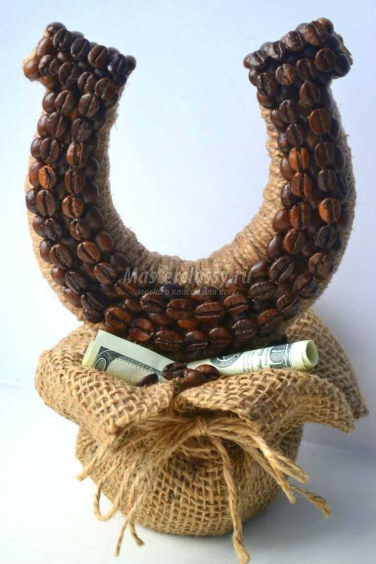 Подарки своими руками из зерен кофе