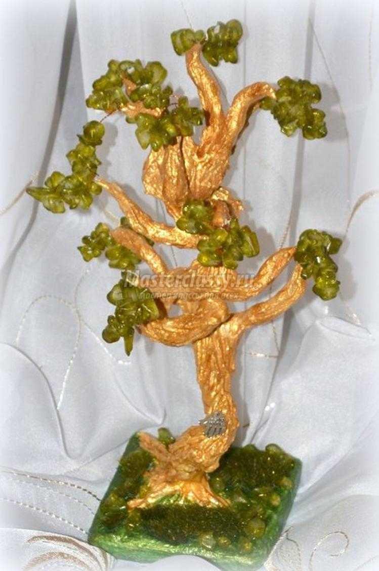Фото декоративных деревьев и их мастер класс
