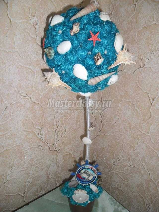 Мастер-класс шар из сизаля