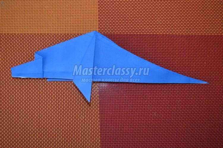 оригами животные. Дельфин