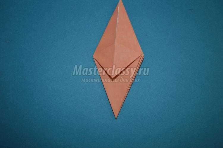 оригами цветы своими руками. Лилии