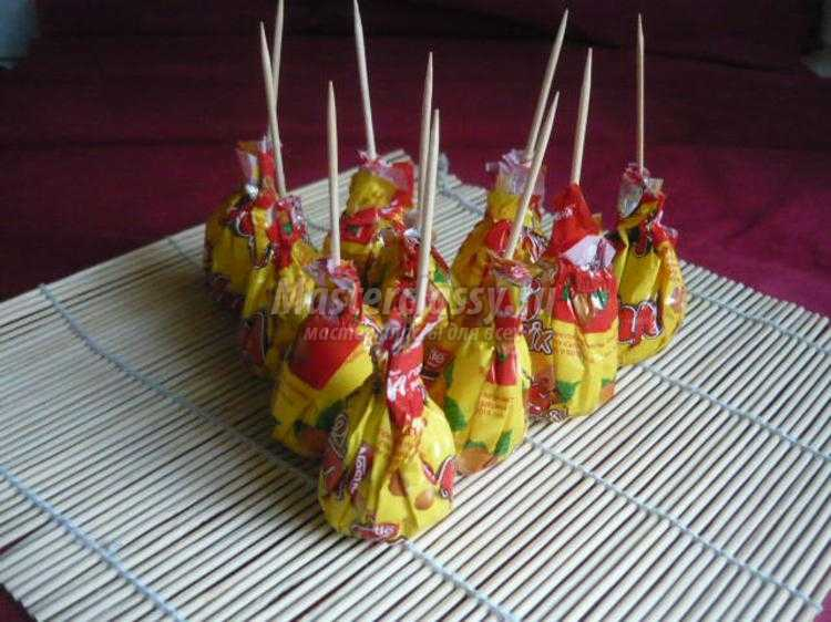 Букет конфеты своими руками фото