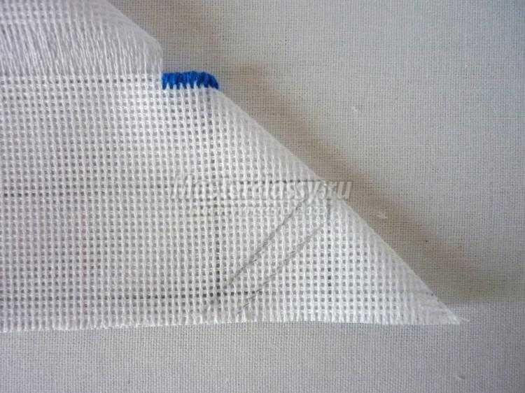Вышивка крестиком салфетки с мережкой. Мастер-класс с пошаговыми фото