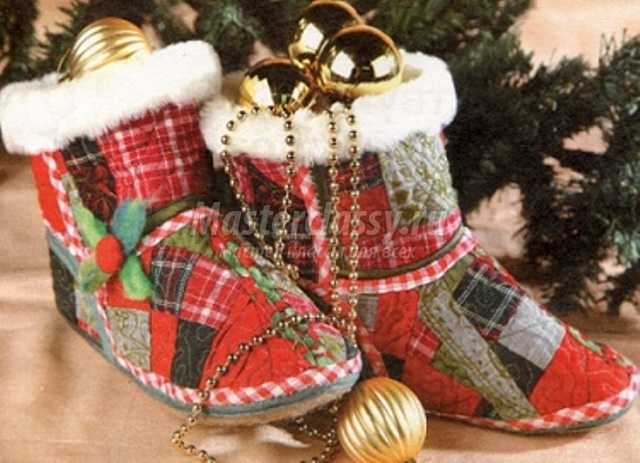 Новогодние подарки своими руками
