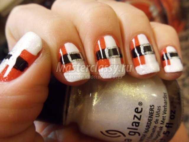 Дизайн ногтей на Новый год