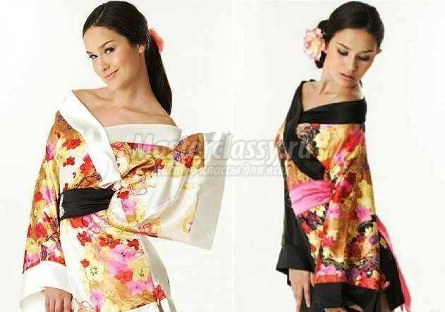 Как сшить кимоно своими руками