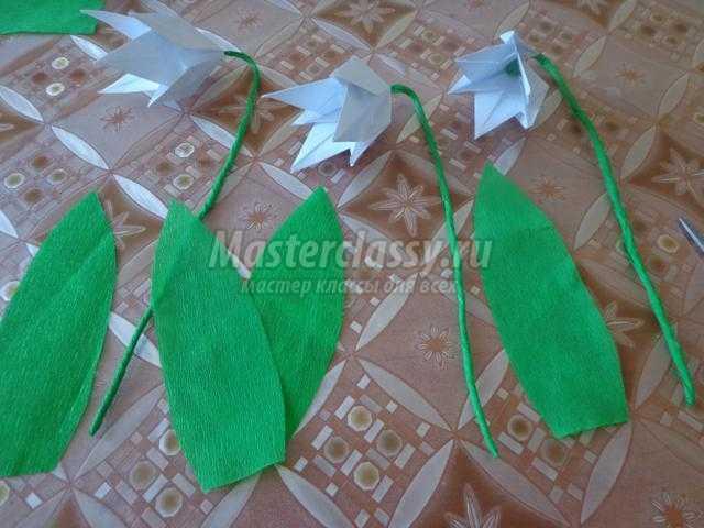 Бумаги оригами мастер класс - Оригами. Тюльпан