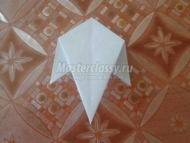 Подснежники из бумаги в технике оригами. Мастер-класс с пошаговыми фото