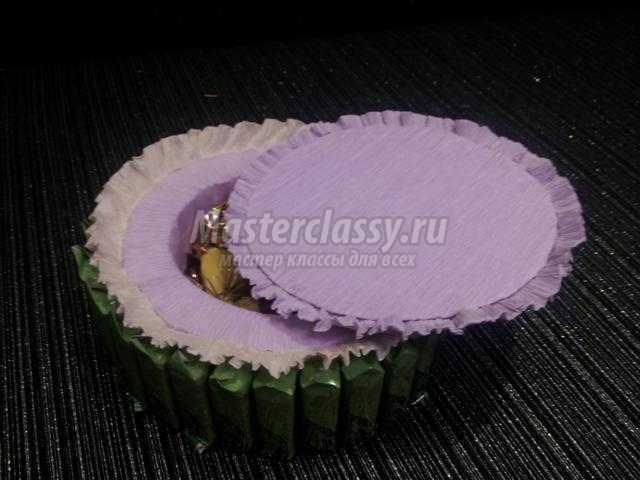 фото тортов из конфет для девушки