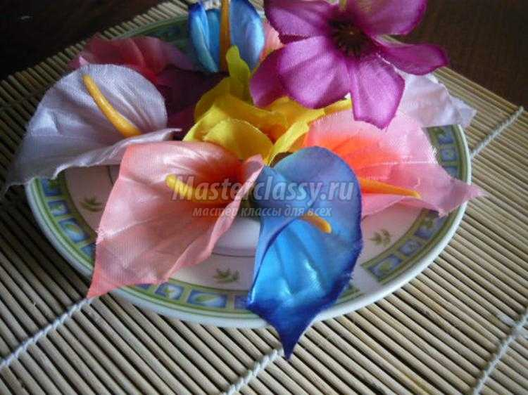 Чашка с цветами своими руками мастер