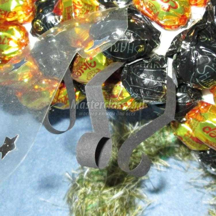 Мастер класс поделки из конфет своими руками
