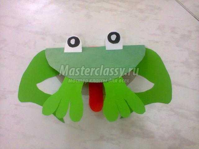 лягушка из бумаги своими руками пошаговая инструкция фото - фото 8