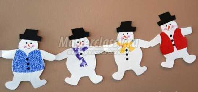 Новогоднее украшение дома своими руками из бумаги фото