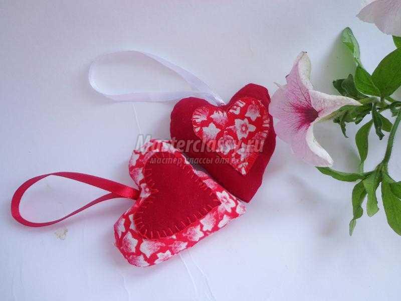 Подарок из ткани своими руками сердце 65