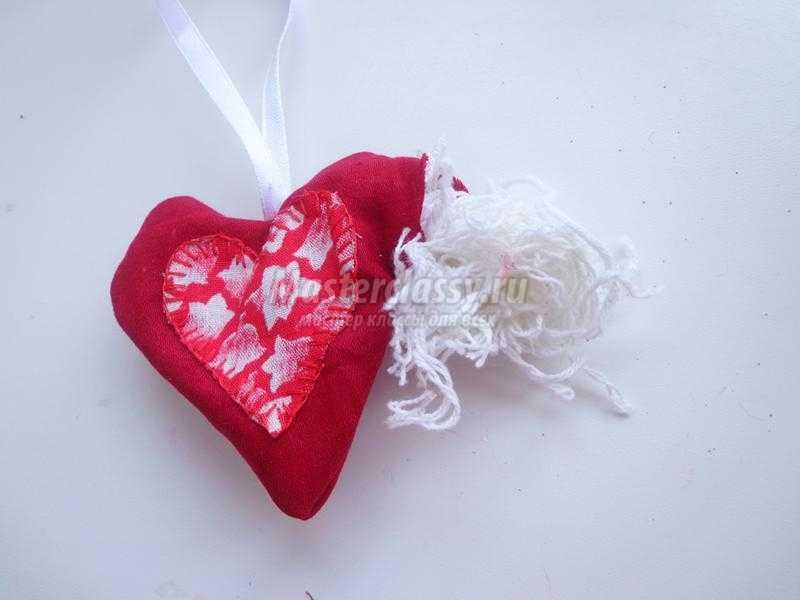 Подарок из ткани своими руками сердце 79