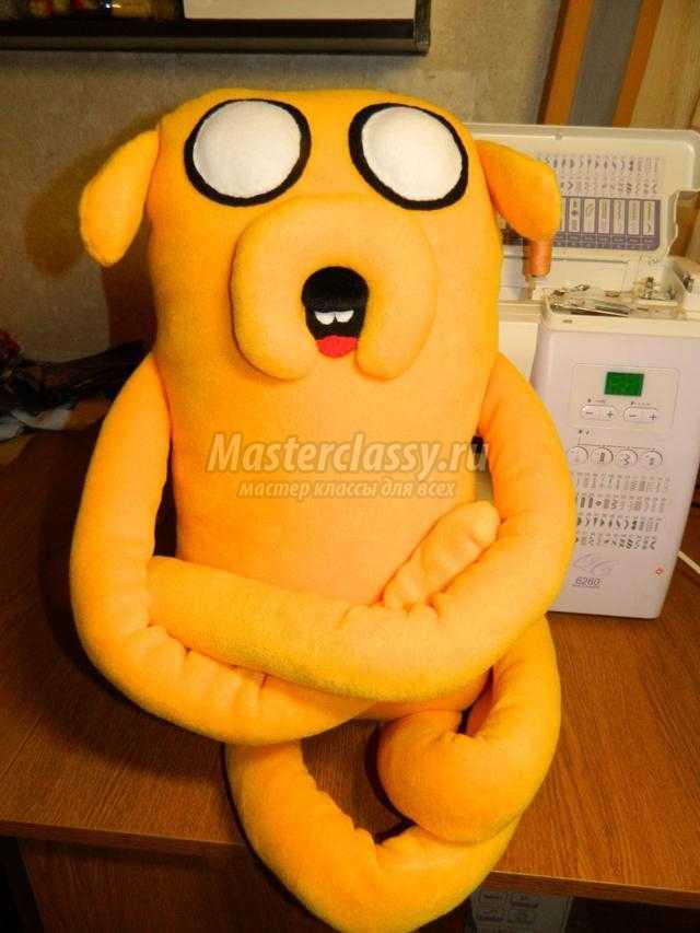 игрушка-подушка. Собака Джейк