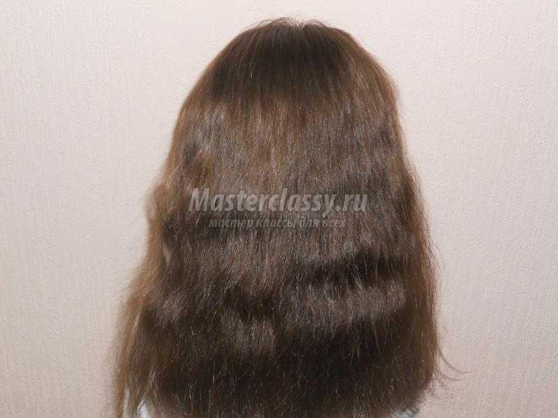 причёска с бантами
