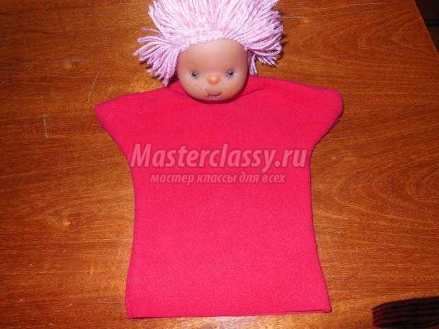 перчаточная кукла из игрушки. Домовёнок Кузя