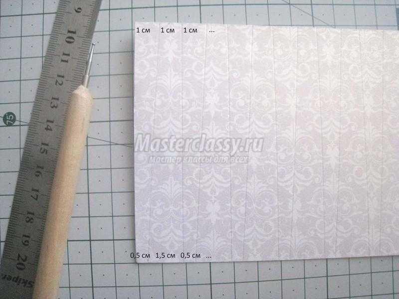 Открытка из бумаги своими руками мастер класс