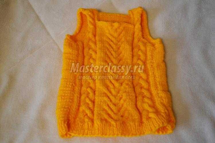 Как связать свитер или полувер спицами