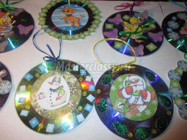 Как сделать шар из дисков