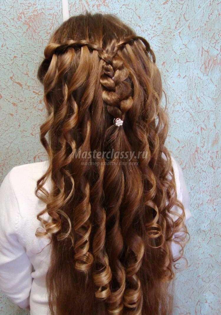Цветы на волосы мастер класс
