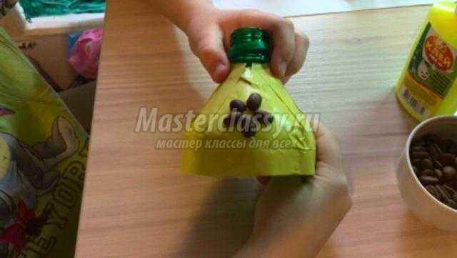 Колокольчик мастер класс из пластиковых бутылок 147