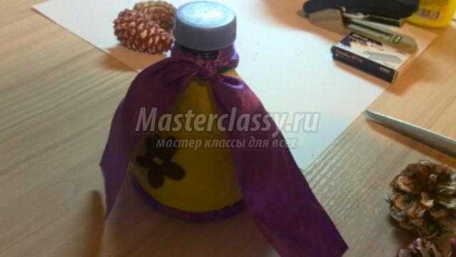 Колокольчик мастер класс из пластиковых бутылок 123