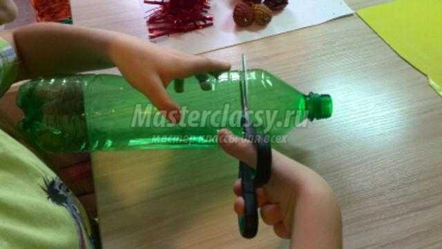 Колокольчик мастер класс из пластиковых бутылок 198