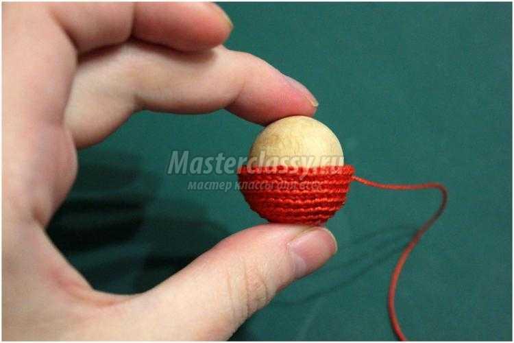 Вязание бус крючком мастер класс