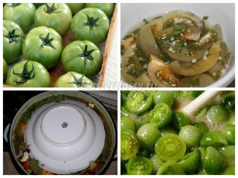 Рецепты зеленых помидор засолка