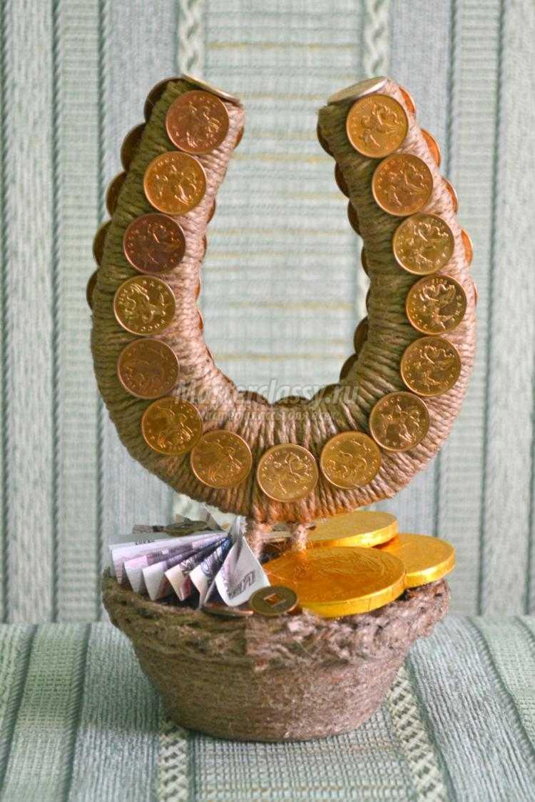 схема вышивки монеты в горшочке