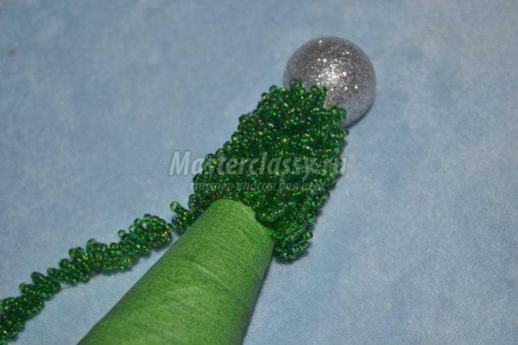 Плетение цепочки елочка