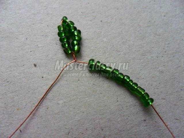 Нежные ромашки из бисера