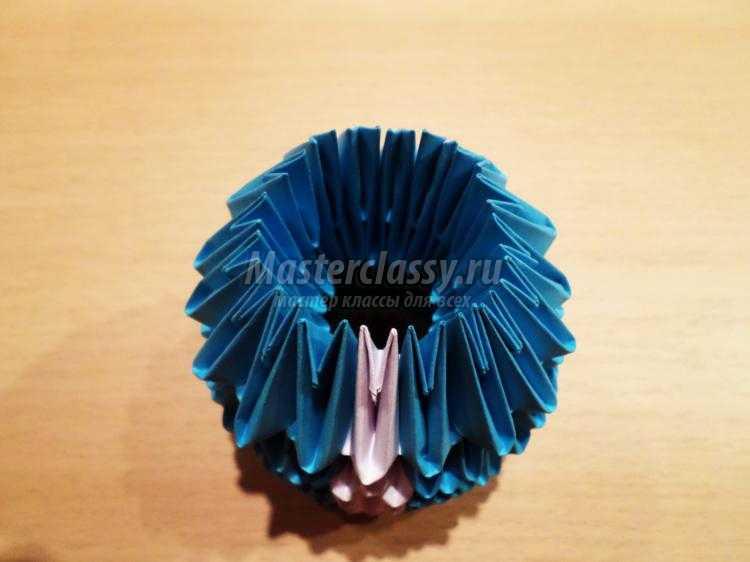 Мастер класс модульному оригами