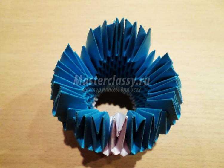 модульное оригами. Снегурочка