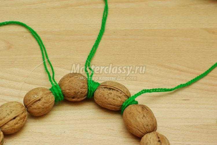 Бусы из грецких орехов своими руками 648