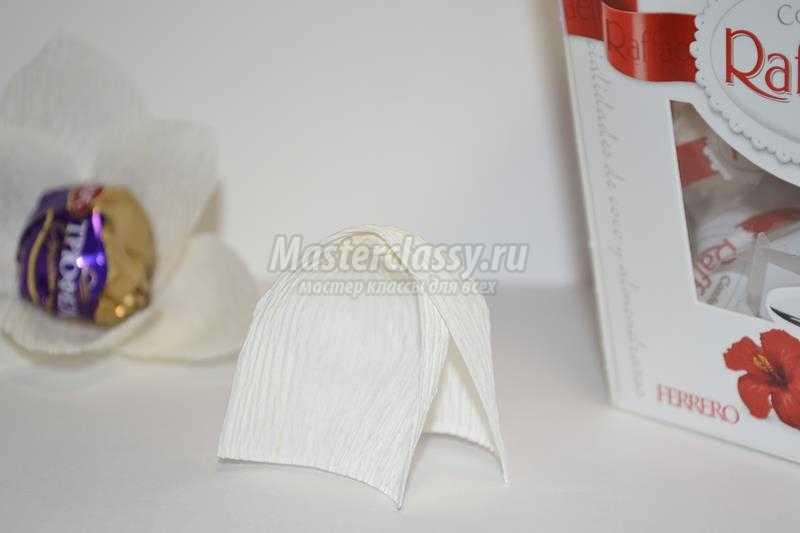 Домик из конфет рафаэлло своими руками мастер класс