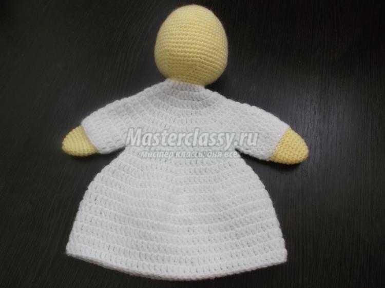 вязаные перчаточные куклы из сказки колобок