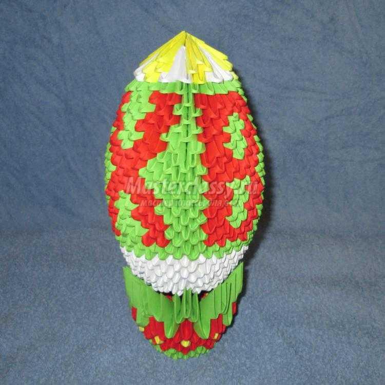 Пасхальное яйцо с церковью