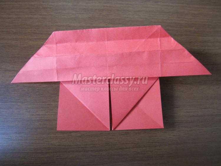 валентинка-оригами с крыльями