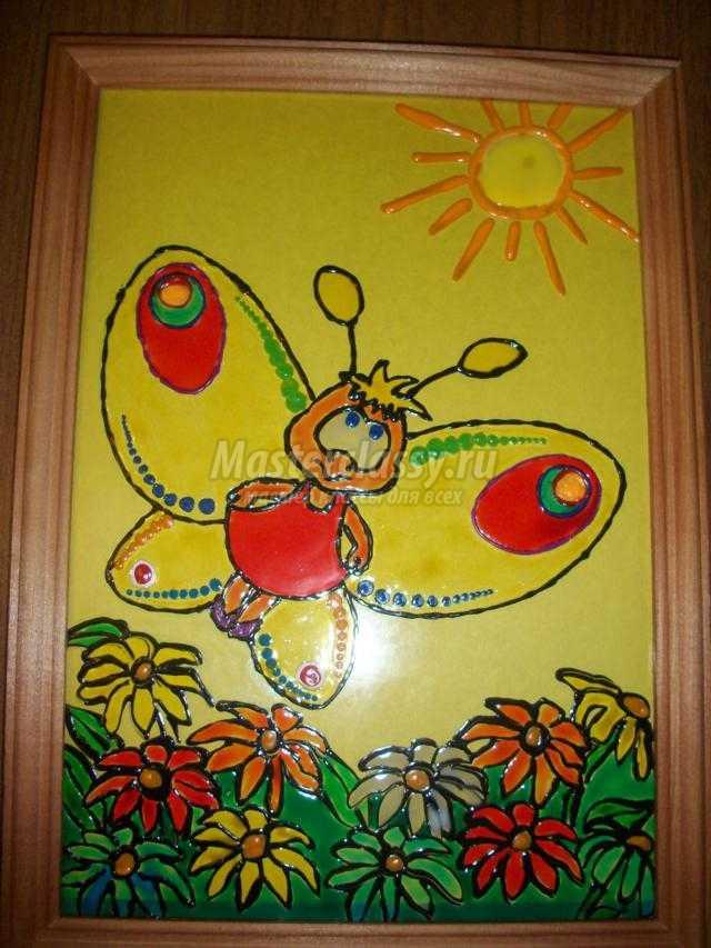 Краски по стеклу мастер класс по рисованию