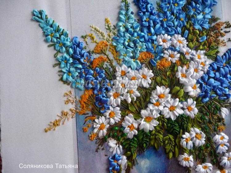 Татьяна солянникова вышивка лентами в контакте 99