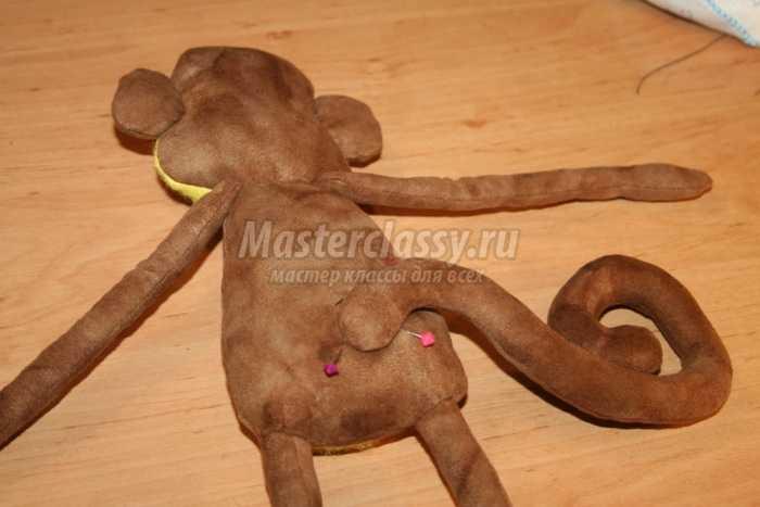 Шьем обезьянку своими руками