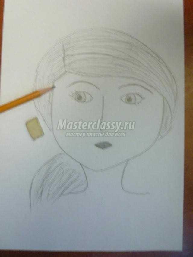 Рисунки карандашом мастер класс