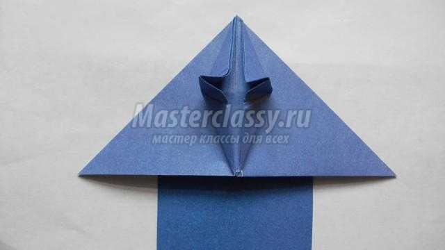 Самолет оригами мастер-класс