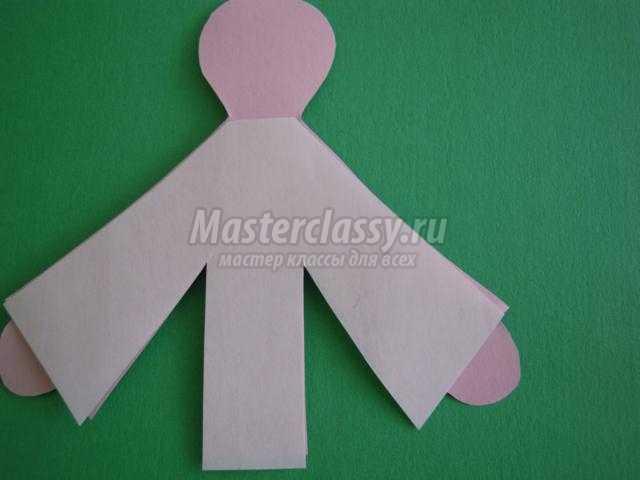Новогодние подвески из бумаги мастер класс