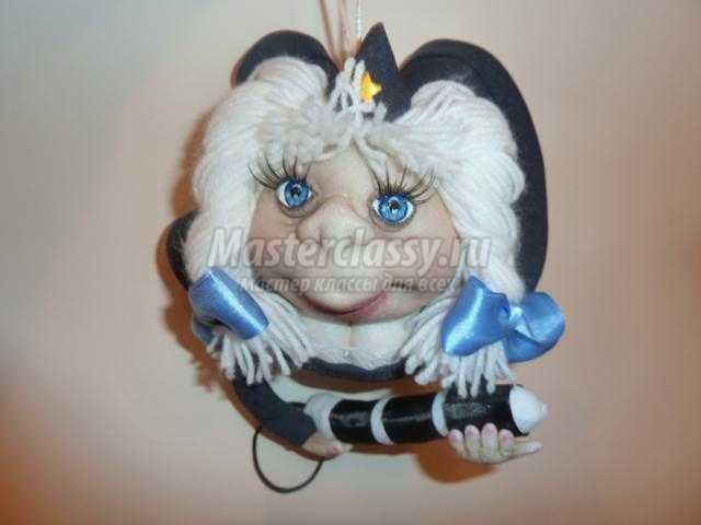 Шитье кукол из капрона мастер класс сделай сам #4