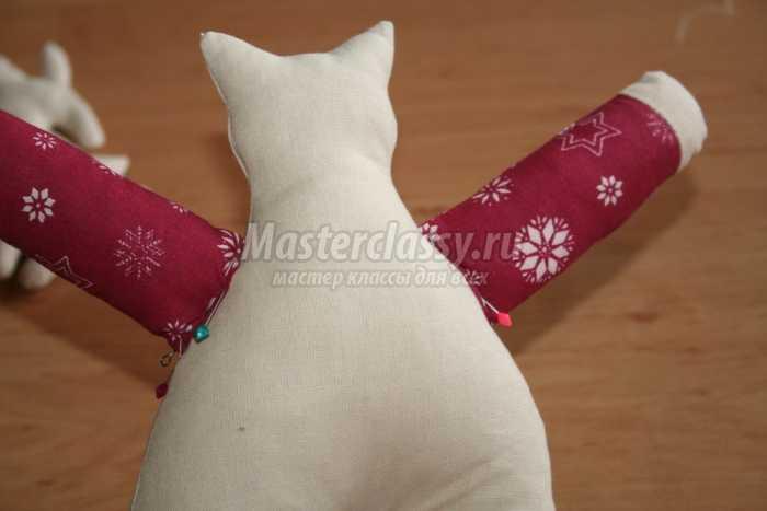 Шьем кота-тильду мастер класс идеи #7