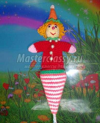 Кукла петрушка мастер класс